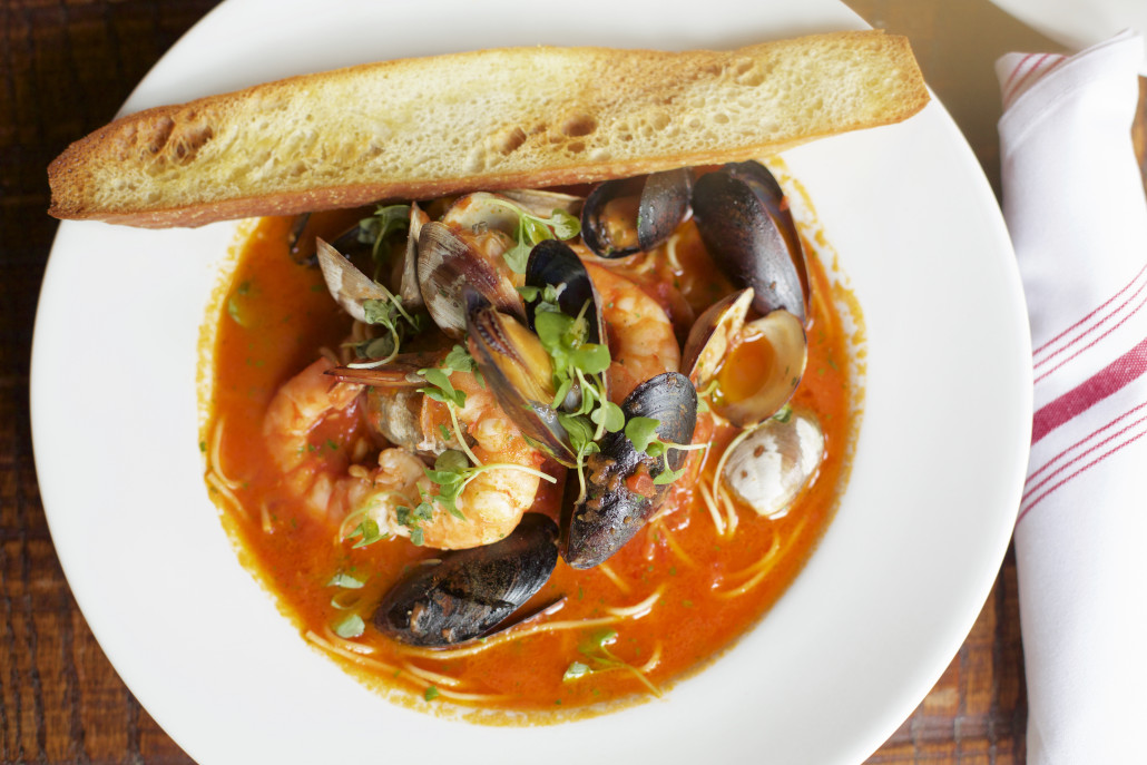 Zuppa Di Pesce at best Italian restaurant in Milton